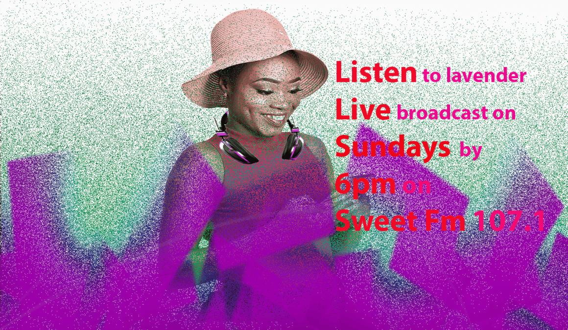 Live Broadcast on Sundays; sweet Fm 107.1
