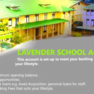Enjoy flexibility with Lavender School Accounts
