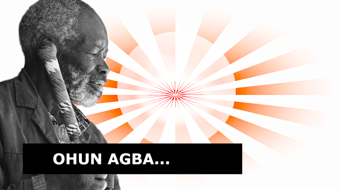 Listen to Ohun Agba; (Wise word)… the story of a woman with 5 husbands, Shocked?!. I am!