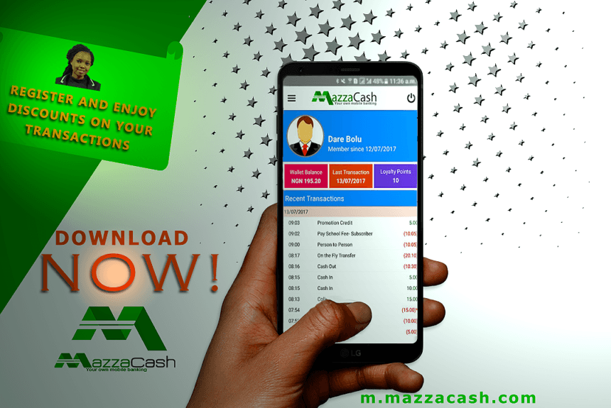 Send money online to anyone in Nigeria with MazzaCash