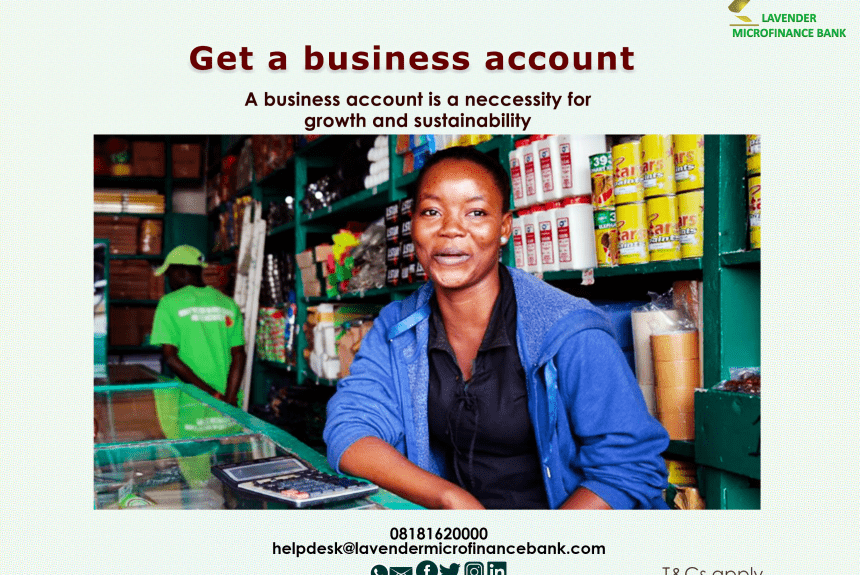 Open a business account